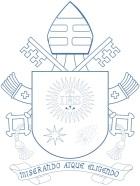 escudo azul papa francisco